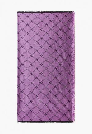 Платок Pinko. Цвет: фиолетовый