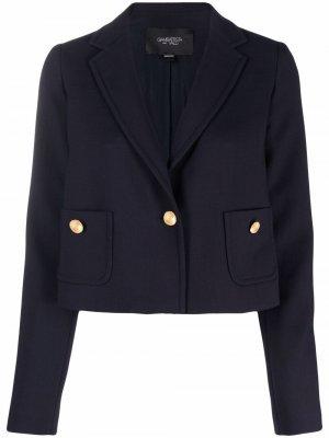Укороченный пиджак Giambattista Valli. Цвет: синий