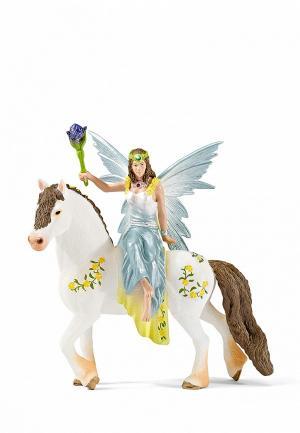 Набор игровой Schleich Эльфийка на лошади. Цвет: разноцветный