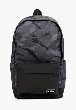Рюкзак adidas CLSC CAMO BP. Цвет: серый
