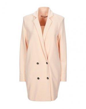 Легкое пальто BABYLON. Цвет: светло-розовый