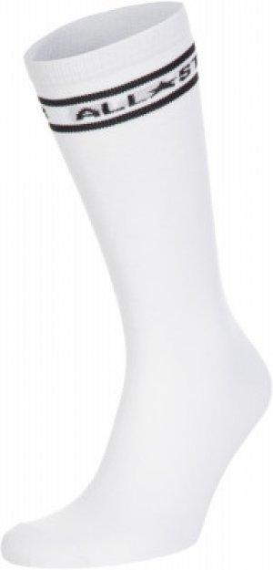 Носки , 2 пары, размер 39-42 Converse. Цвет: белый