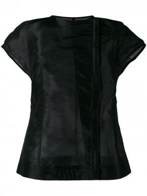 Пиджак с короткими рукавами Rick Owens. Цвет: черный