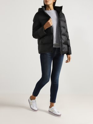 Куртка plus size Basler. Цвет: chernyy