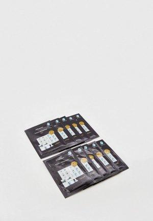 Комплект JMsolution антивозрастных плацентарных масок с ланолином, 10 шт x 35 мл. Цвет: белый