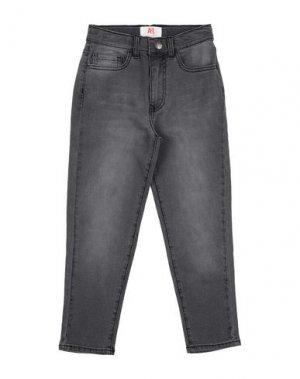 Джинсовые брюки AMERICAN OUTFITTERS. Цвет: черный