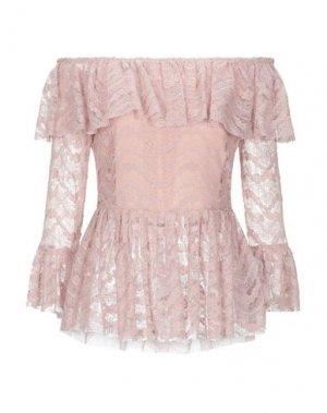 Блузка FRACOMINA. Цвет: пастельно-розовый