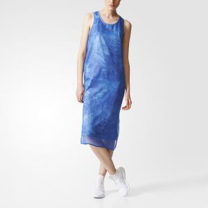 Платье-майка Ocean Elements Originals adidas. Цвет: разноцветный