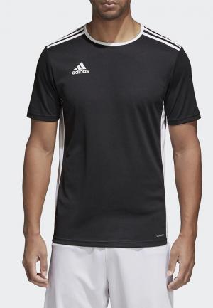 Футболка спортивная adidas ENTRADA 18 JSY. Цвет: черный