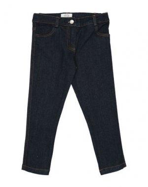 Джинсовые брюки ALETTA. Цвет: синий
