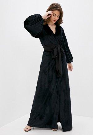 Платье Imago. Цвет: черный