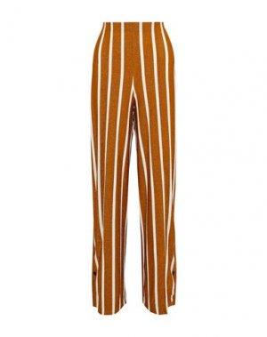 Повседневные брюки BY MALENE BIRGER. Цвет: ржаво-коричневый