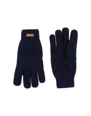 Перчатки BARTS. Цвет: темно-синий