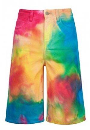 Шорты джинсовые IRENEISGOOD. Цвет: разноцветный