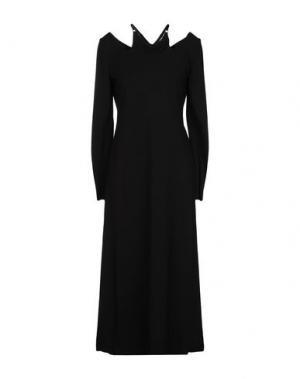 Платье длиной 3/4 A.L.C.. Цвет: черный