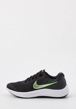 Кроссовки Nike STAR RUNNER 3 (GS). Цвет: черный