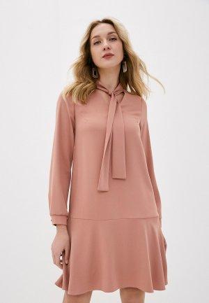 Платье Forus. Цвет: розовый