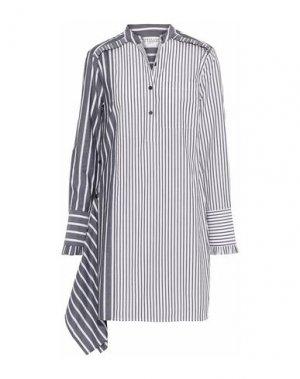 Короткое платье DEREK LAM 10 CROSBY. Цвет: темно-синий