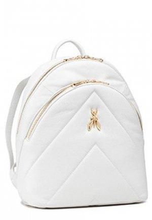 Рюкзак PATRIZIA PEPE. Цвет: белый