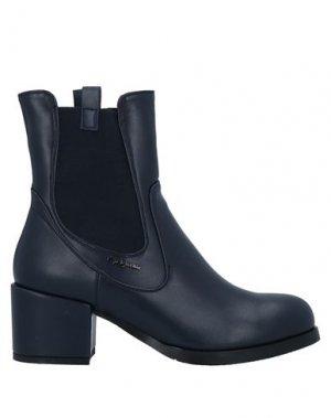 Полусапоги и высокие ботинки GAI MATTIOLO. Цвет: темно-синий