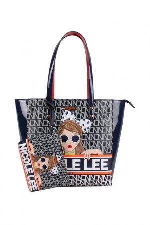 Набор из 3-х сумок Nicole Lee. Цвет: see my sweetheart
