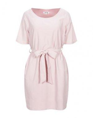 Короткое платье DRY LAKE.. Цвет: розовый
