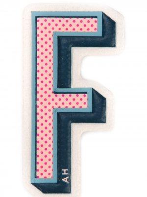 Наклейка F Anya Hindmarch. Цвет: разноцветный
