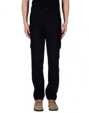 Повседневные брюки GERANI. Цвет: темно-синий