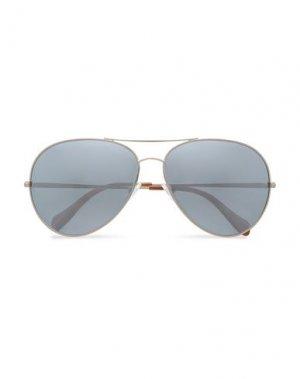 Солнечные очки OLIVER PEOPLES. Цвет: серебристый