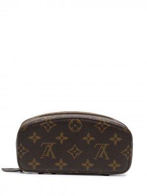 Шкатулка 1990-х годов с монограммой Louis Vuitton. Цвет: коричневый