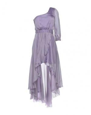 Короткое платье MANGANO. Цвет: сиреневый