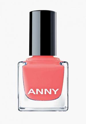 Лак для ногтей Anny тон 172.90 totally flamazing. Цвет: коралловый