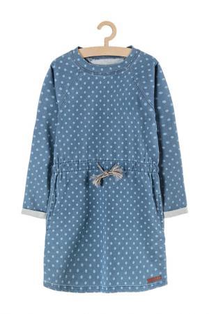 Платье для девочек 5.10.15.. Цвет: голубой
