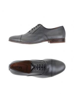 Обувь на шнурках MFW COLLECTION. Цвет: свинцово-серый