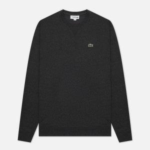 Мужская толстовка Sport Cotton Blend Fleece Lacoste. Цвет: серый