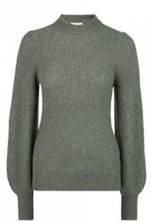 Пуловер GANNI. Цвет: зеленый