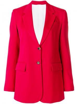 Жакет узкого кроя Calvin Klein 205W39nyc. Цвет: красный