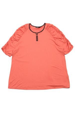 Футболка FRANK WALDER. Цвет: оранжевый