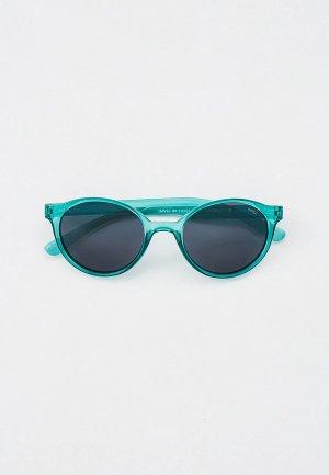 Очки солнцезащитные Invu с поляризационными линзами. Цвет: бирюзовый