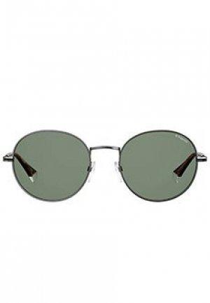 Солнцезащитные очки POLAROID. Цвет: зеленый
