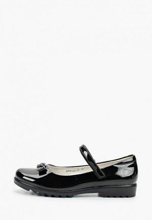 Туфли Antilopa. Цвет: черный