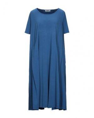 Платье до колена MAMA B.. Цвет: грифельно-синий