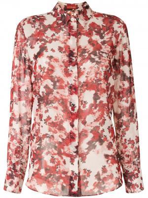Рубашка Chika Altuzarra. Цвет: красный