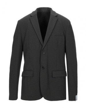 Пиджак PAOLO PECORA. Цвет: черный