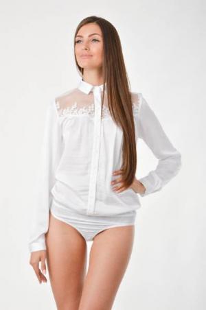 Arefeva Блуза-боди. Цвет: белый