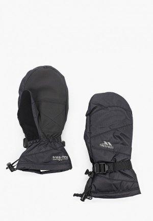 Варежки горнолыжные Trespass. Цвет: черный