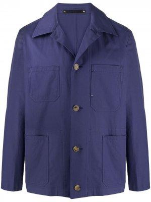Куртка-рубашка свободного кроя Paul Smith. Цвет: фиолетовый