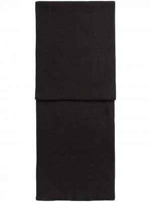 Трикотажный шарф Dolce & Gabbana. Цвет: серый
