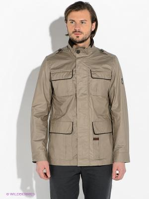 Куртка Lawine. Цвет: бежевый