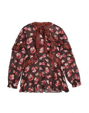 Блузка ANNA SUI. Цвет: какао